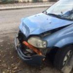 רכב לאחר תאונה לפירוק רכבים