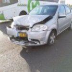 רכב ניזוק בתאונה לפירוק